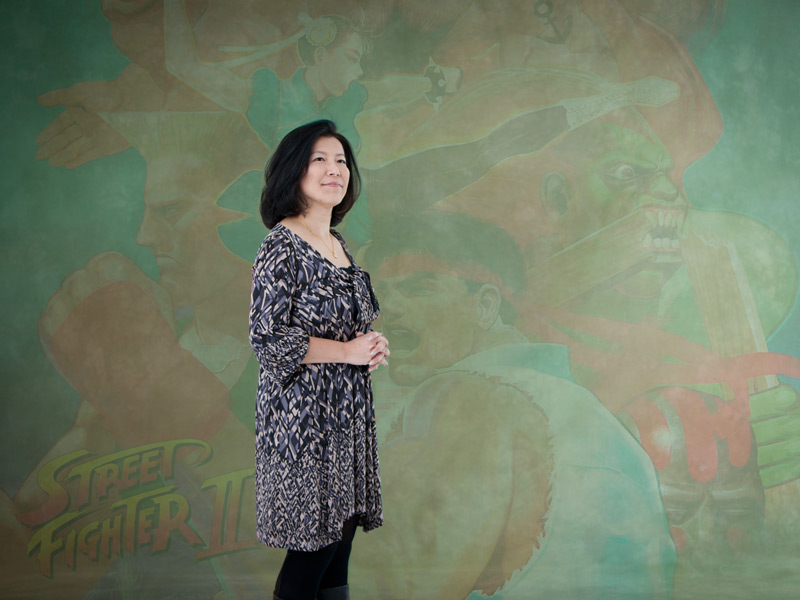 Yoko Shimomura Premio Pionera del Fun & Serious Game Festival