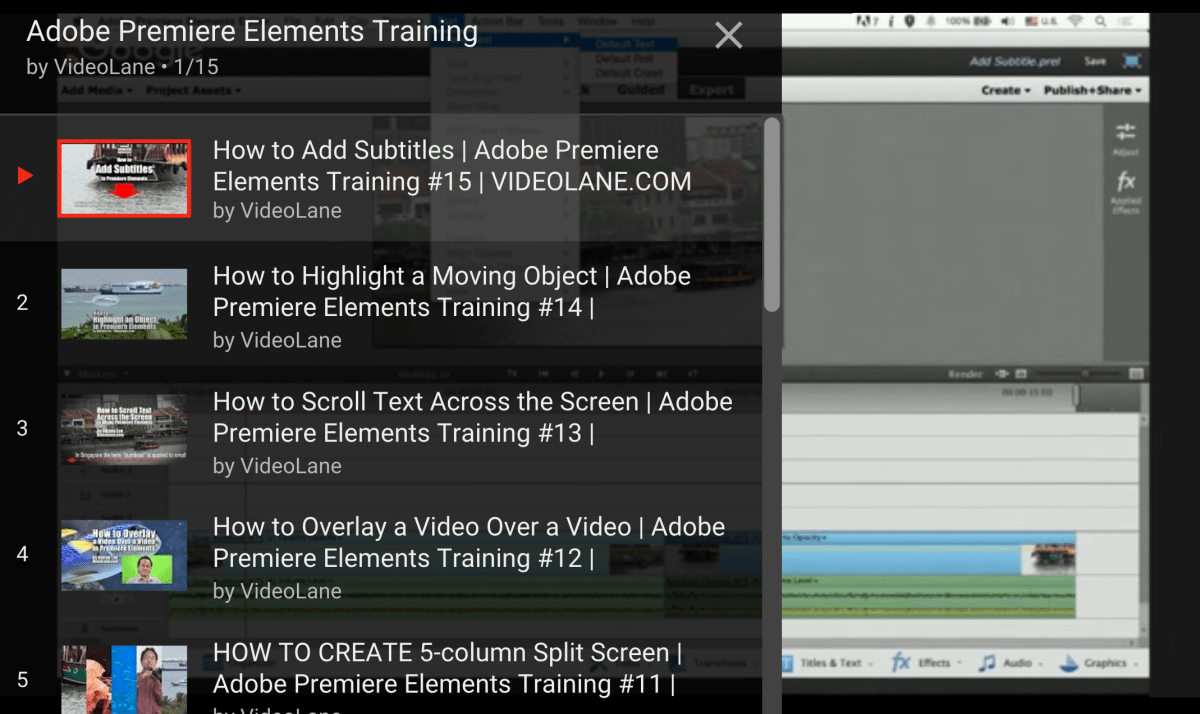 Adobe premiere elements tips tricks and more videolane ccuart Image collections