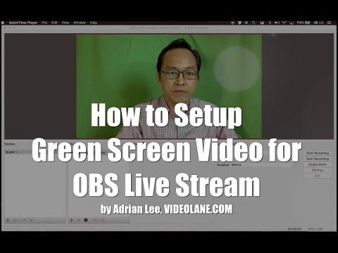 Obs green screen