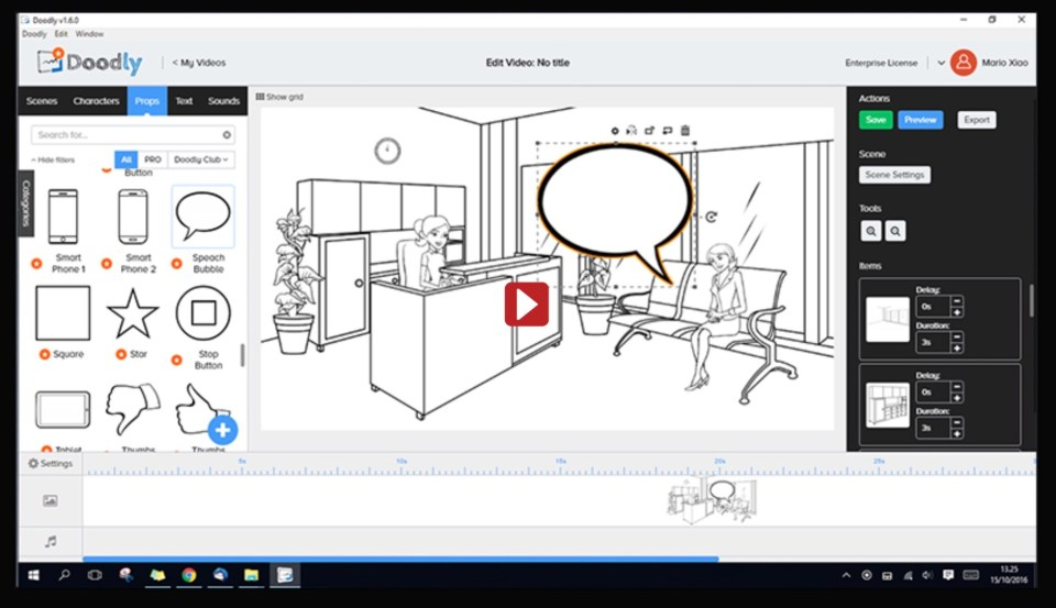 Doodly - Whiteboard Animation Video Software - VIDEOLANE ⏩