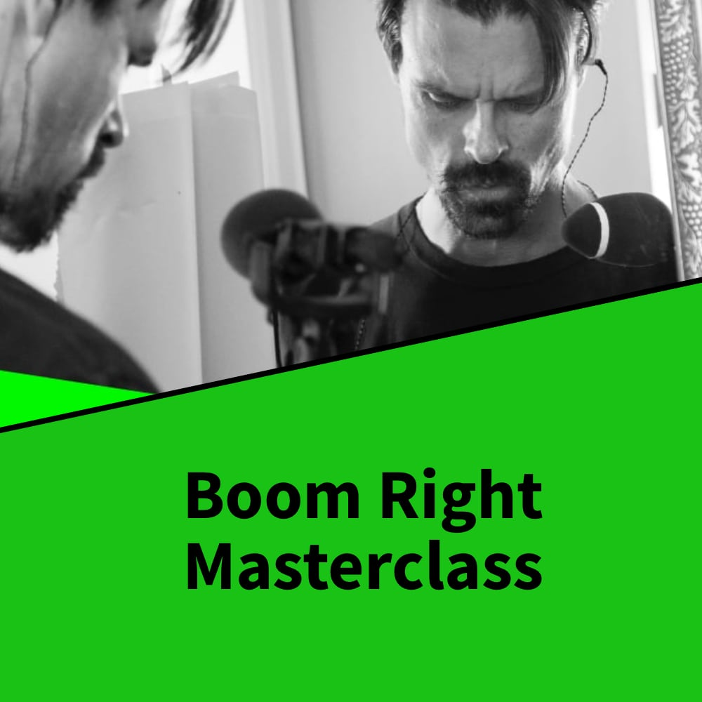 Boom Right Masterclass with Ken Strain