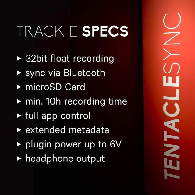 Track E Specifications