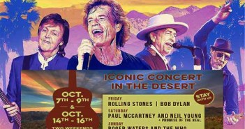 Desert trip the grat california concert with The Who, Dylan McCartney, Roger Waters,