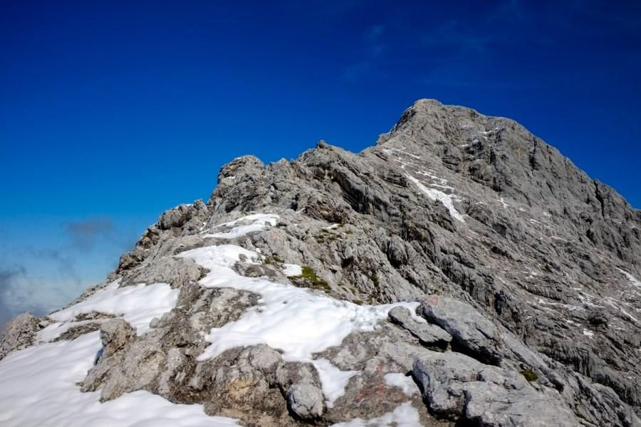 Videonauts Wandern Trekking Alpspitze im Spätherbst