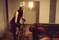 Videonauts Hometrainer Bikerolle Fixie Cinelli Mash Session