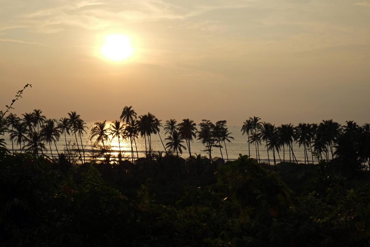 Videonauts Indien Goa Arambol sunset