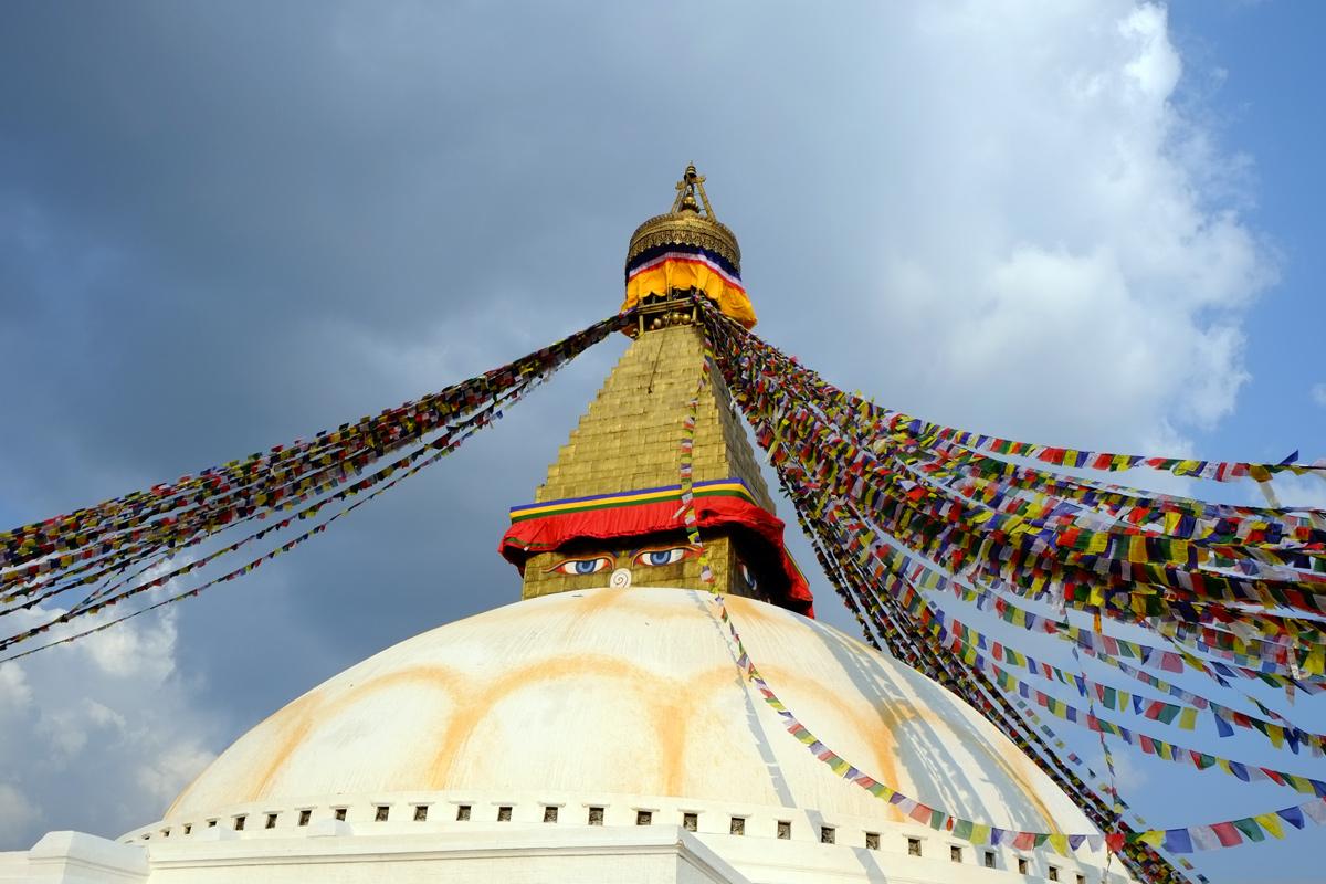 Videonauts 2014 Nepal Kathmandu Stupa Bodnath