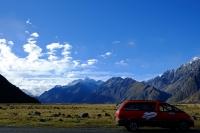 Videonauts Neuseeland Südinsel Campervan somewhere