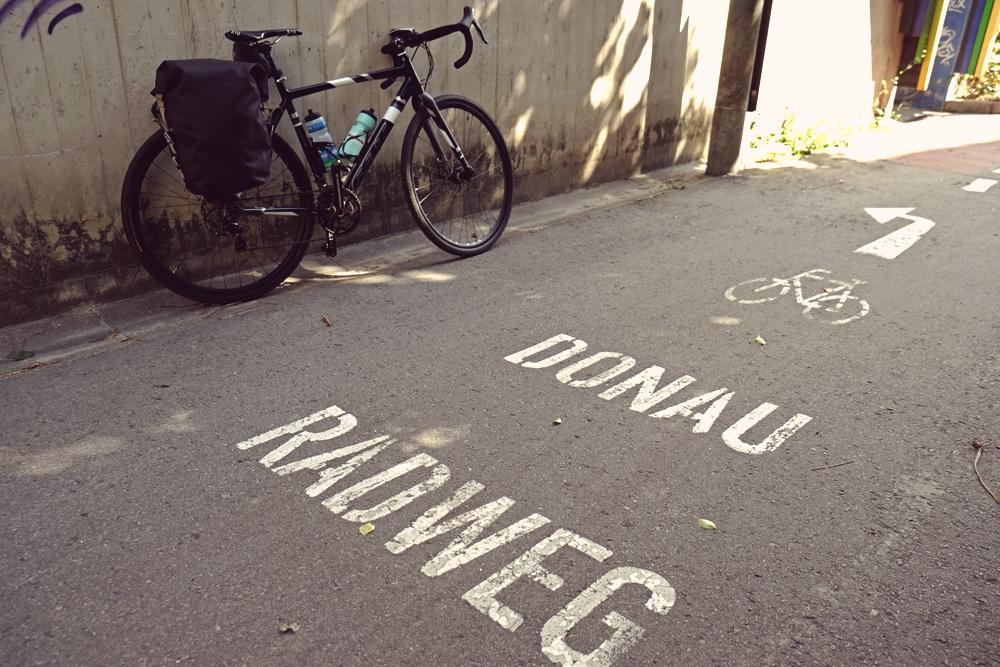 Donauradweg Passau Wien