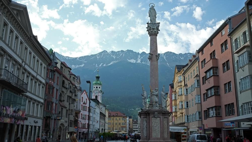 Videonauts Innsbruck Radtour über die Alpen 2015