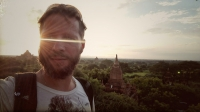 Videonauts backpacking Burma Bagan sunrise