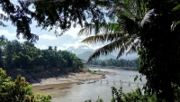 Videonauts Sabbatical Laos Luang Prabang bamboo bridge