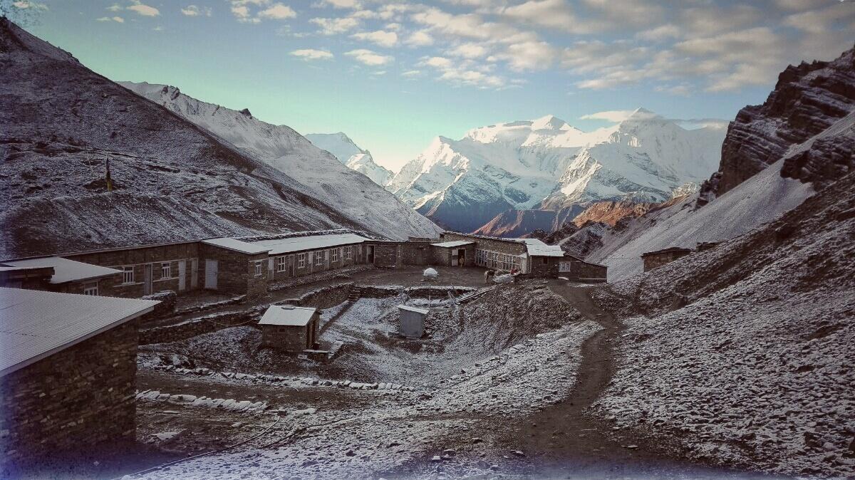Videonauts backpacking Nepal Annapurna Circuit High Camp