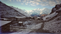 Videonauts backpacking Nepal Annapurna Circuit High Camp