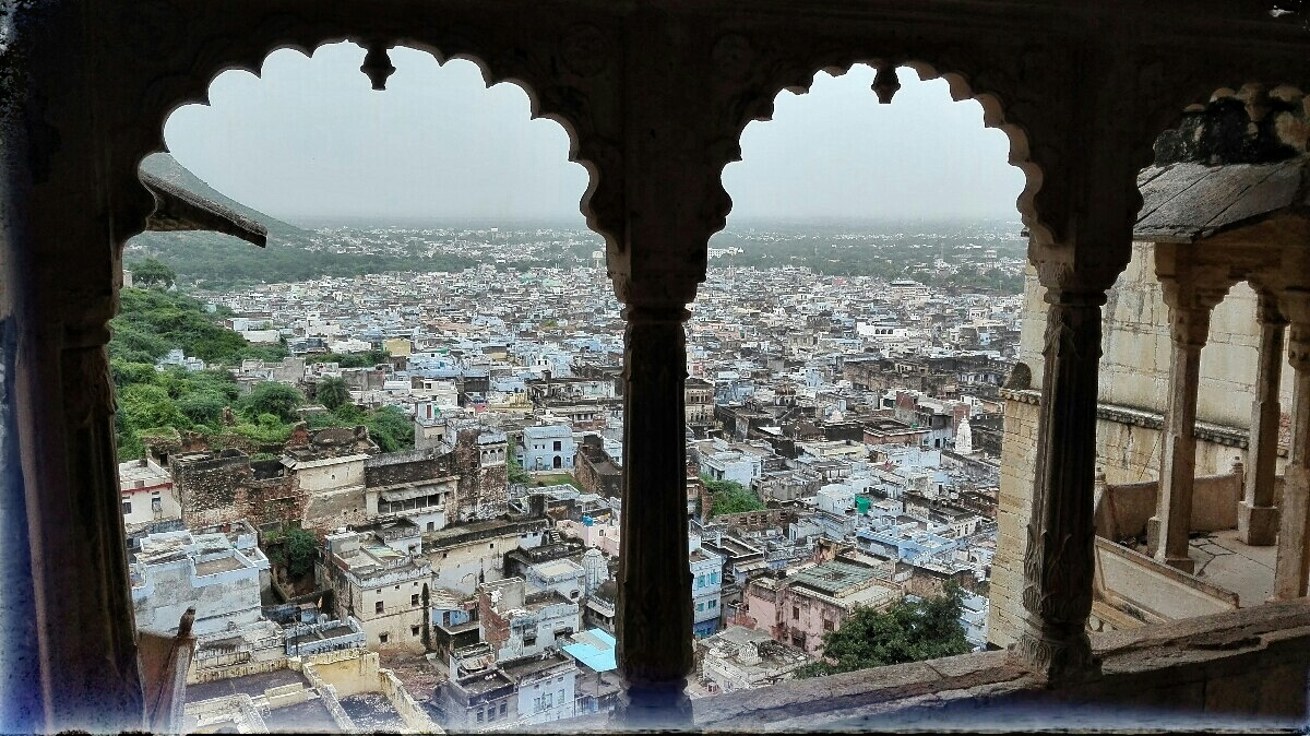 Videonauts backpacking Indien Rajasthan Bundi Fort