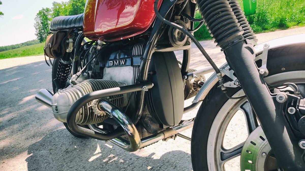 2020 Lichtmaschinendeckel BMW R80 painted