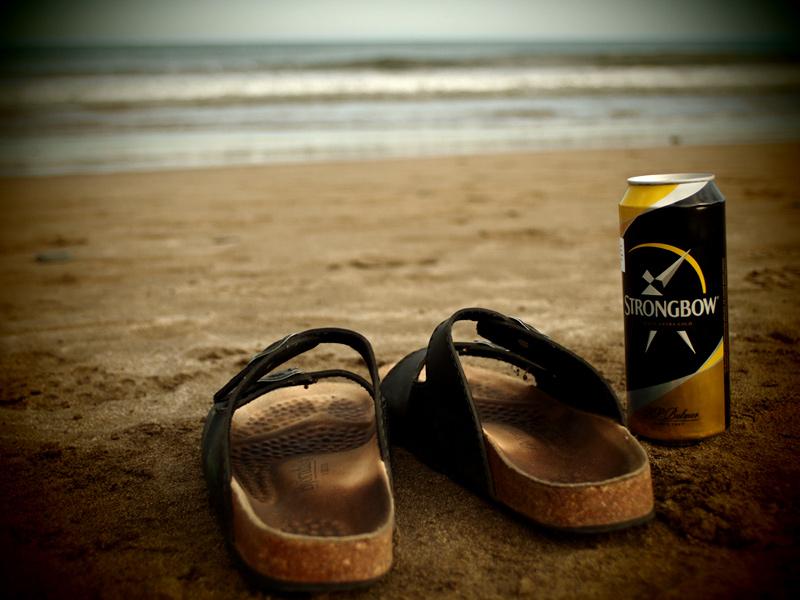 Videonauts Gran Canaria Strand & Latschen & Strongbow Cider