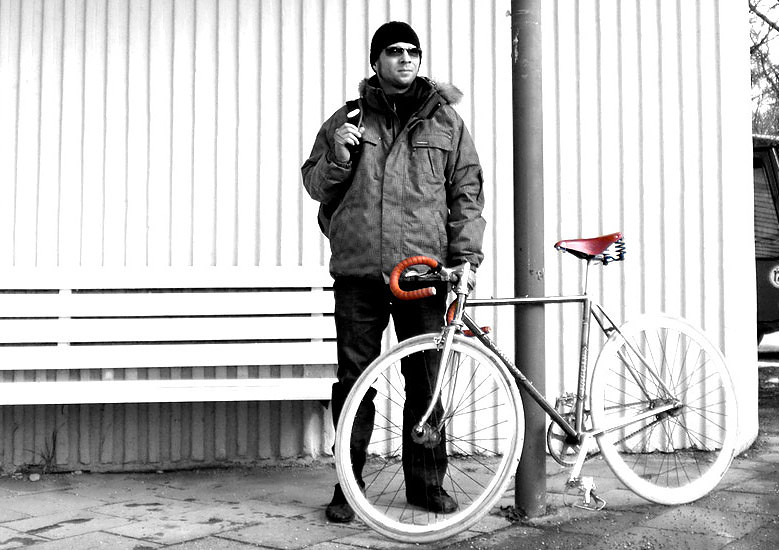 Videonauts Fixie Winter Biketour - chief videonaut