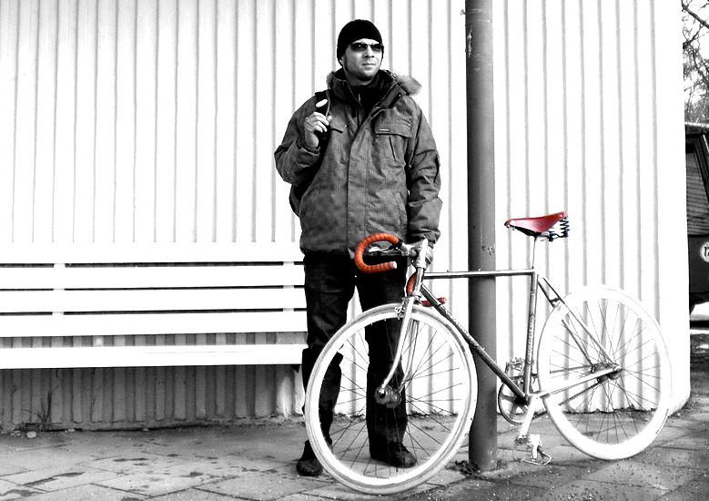 Videonauts Fixie Winter Biketour - chief videonaut