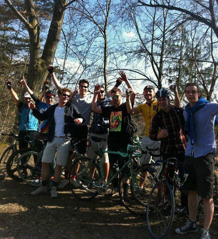 Videonauts Biketour Schäftlarn mit der Vintage Race Bike Crew