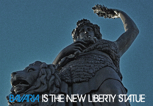 Videonauts Bavaria is the new liberty statue