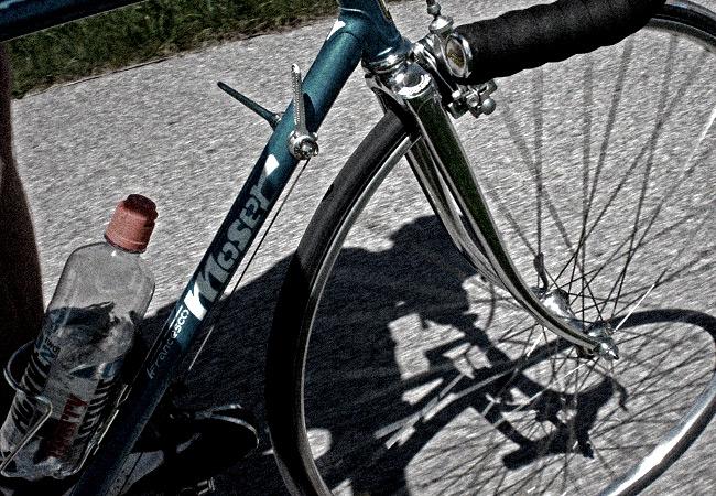 Videonauts bayerische Pampa Biketour Moser vintage Rennrad