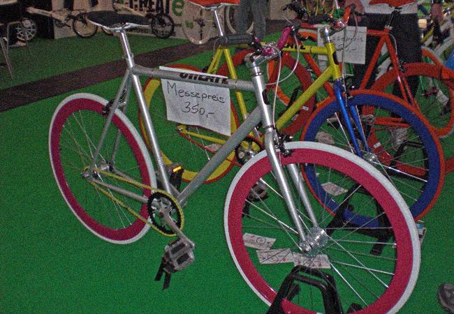 Videonauts Bike Expo München billige Asia Fixies