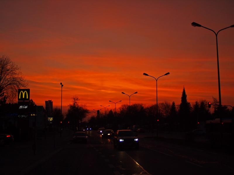 Videonauts München Wasserburger Strasse sunset