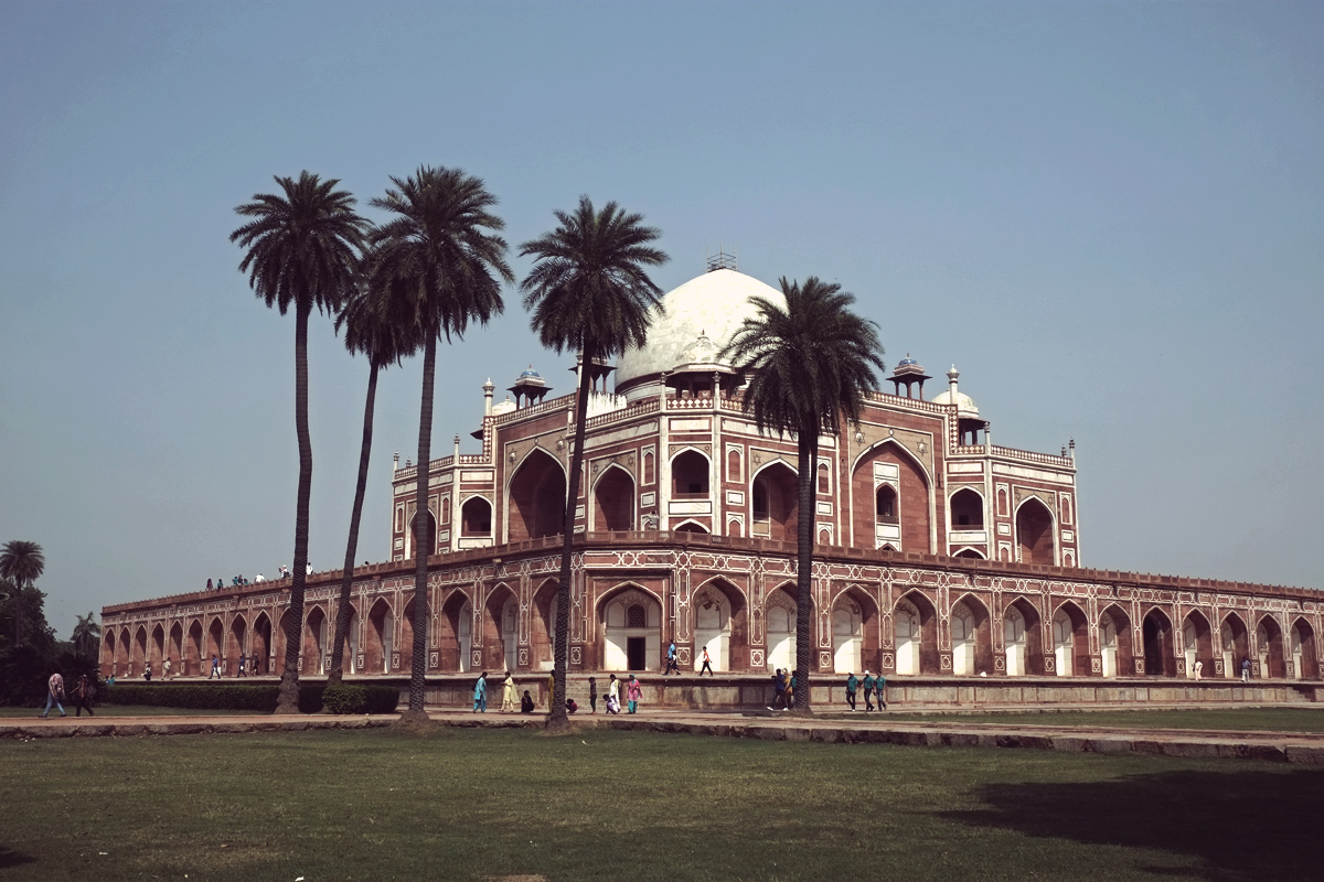 Videonauts Indien New Delhi Humayuns Tomb
