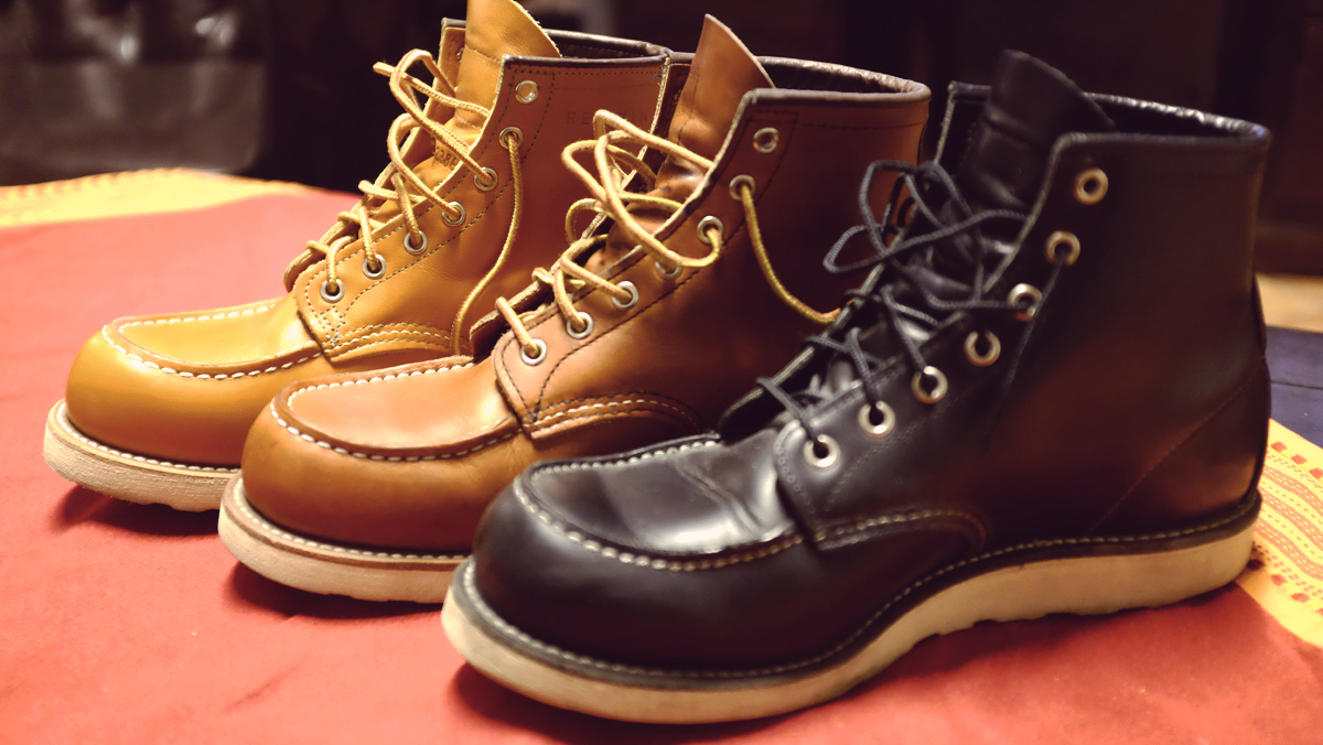 The Red Wing Moc Toe