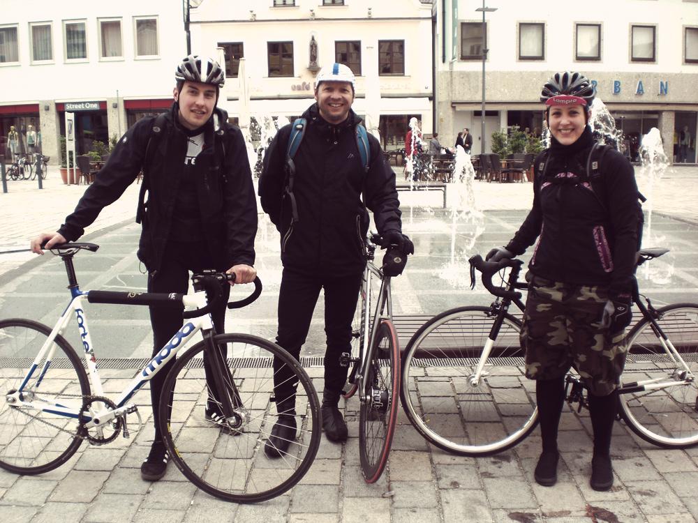 Videonauts Radtour Pfaffenhoffen Fixie Singlespeed
