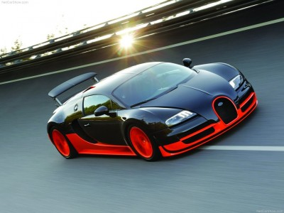Bugatti Veyron : la voiture le plus puissante du monde