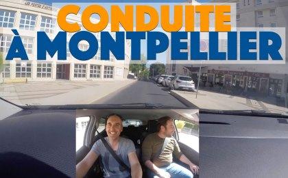 Conduite commentée à Montpellier