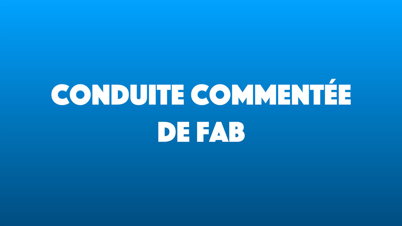 Conduite Commentée à Marseille N°1