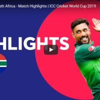 Pakistan vs South Africa World Cup 2019 Match Highlights