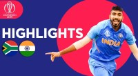 India vs South Africa WC Highlights