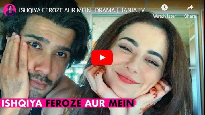 ishqiya hania aamir vlog feroz khan
