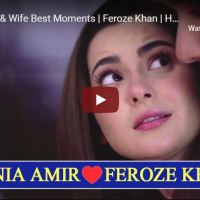 Husband & Wife Best Moments | Feroze Khan | Hania Aamir | Ishqiya