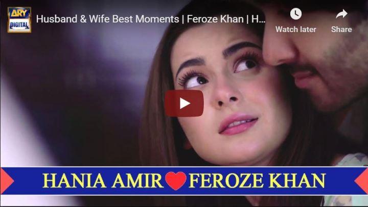 Hania Amir Feroze Khan Husband Wife Best Love Moments