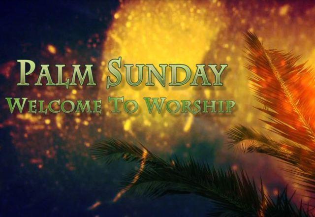 Palm Sunday Intro Video Loop