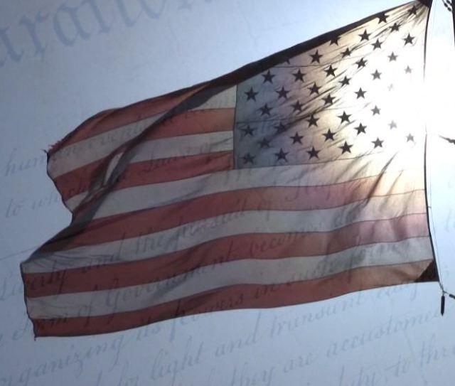 Flag Declaration Of Independence