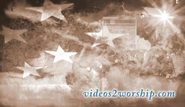 9-11 Tears Motion Background