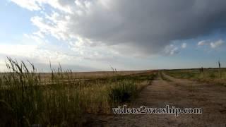 Dirt Road Durring Summer Background