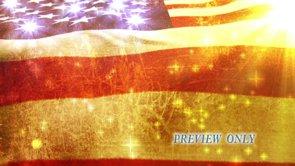 American Flag: Grunge Motion