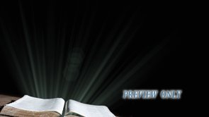 Bible and Flare Worship Background