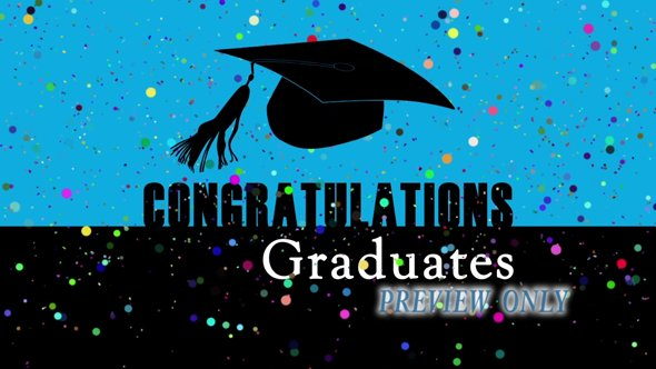 Graduation Motion Backgrounds