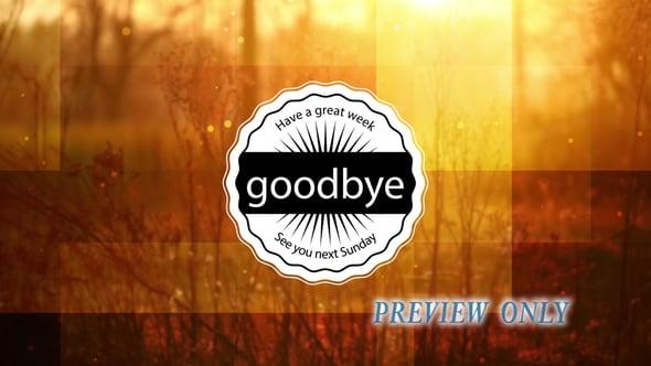 Autumn Goodbye Golden Motion