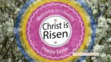 Easter Resurrection Text Background