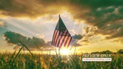 American Patriotic Flag Motion