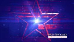 American Patriotic Star Background